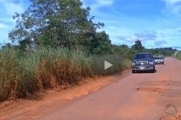 MT-270 continua cheia de buracos em Rondonópolis