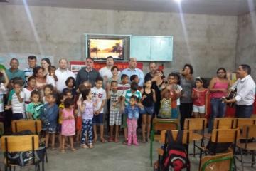 Diretores visitam Projeto Social Anjo Gabriel