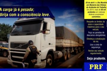 Mensagem da PRF