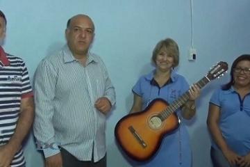 Informativo Sindmat - Doação de instrumentos musicais