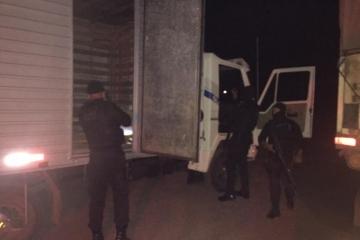 Quadrilha é presa após roubo de caminhões e eletrônicos em Cuiabá