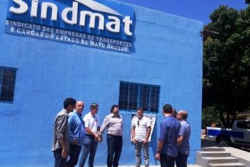 Presidente do Detran visita Sindmat