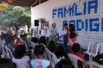 Famílias de motoristas participam do Projeto