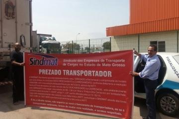 Sindmat faz alerta sobre tempo de carga e descarga no Atacadão, em Cuiabá