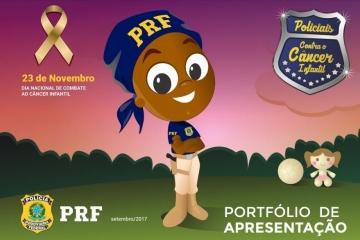Sindmat apoia campanha contra o câncer infantil da PRF e participa do evento de encerramento nesta q
