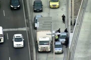 Estradas viram faroeste com o aumento veloz do roubo de cargas
