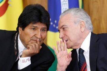 Brasil e Bolívia assinam acordos nas áreas de defesa e transporte
