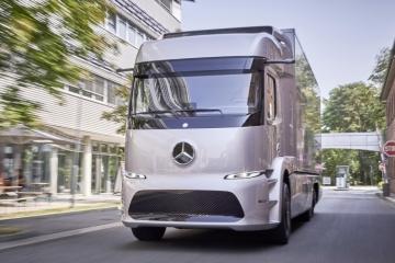 Futuro é elétrico também para os caminhões