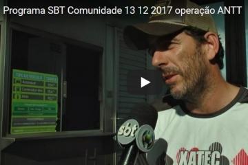Operação da ANTT em Cuiabá