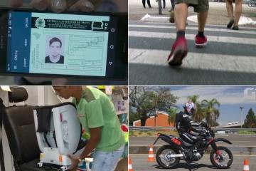 Multa para pedestre e documentos digitais: veja o que muda na lei de trânsito em 2018