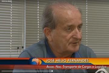 Presidente da NTC fala sobre roubo de cargas no Bom Dia Brasil
