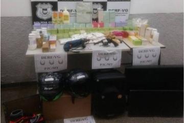 Casal é preso por receptação de produtos roubados de transportadora; prejuízo passa de R$1 milhão
