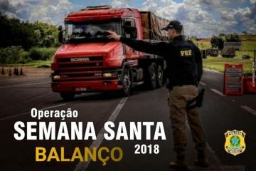 PRF encerra Operação Semana Santa com redução de infrações e mantém média de acidentes do ano passad