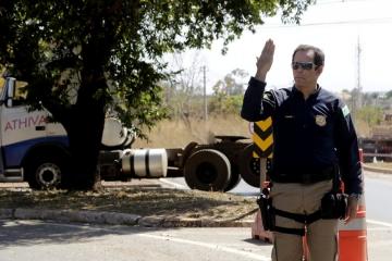 PRF encerra Operação Dia do Trabalhador com redução no número de acidentes e mortes nas rodovias do