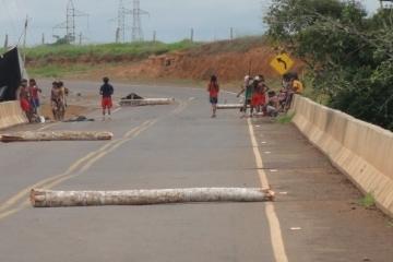 Sindmat pede providências e PRF dá retorno à NTC com relação à desobstrução da rodovia BR 364, bloqu