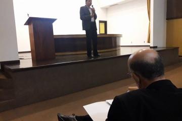 Palestra sobre tabela do frete promovida pelo Sindmat atrai 120 participantes. Assista reportagem da