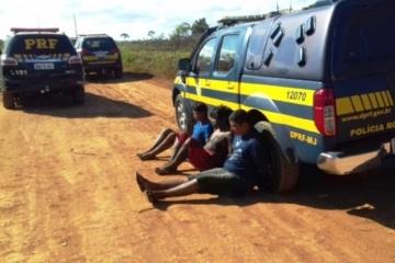 Exército, PF e PRF prendem índios que cobravam pedágio há 40 dias na BR-364