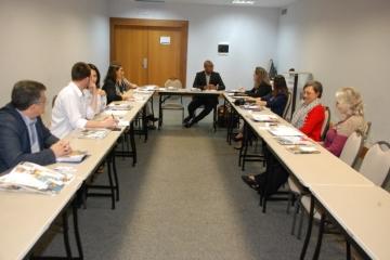 Comitê de Comunicações do TRC se reúne durante o CONET&Intersindical