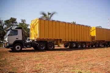 Circulação de rodotrem de 91 toneladas está suspensa