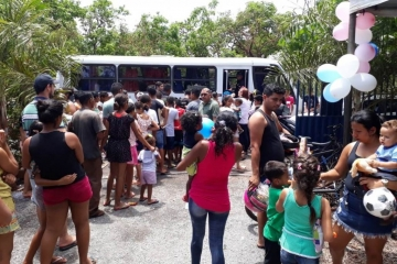 Delegacias de Várzea Grande realizam ação social com 300 crianças e tem apoio do Sindmat