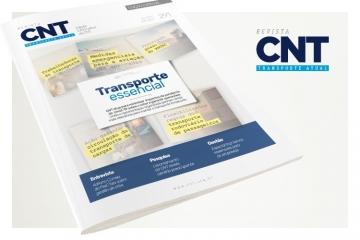 Revista CNT Transporte Atual discute os caminhos para o setor em tempos de crise