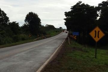 Obras de recuperação do Trevo do Lagarto, em Várzea Grande, interdita tráfego