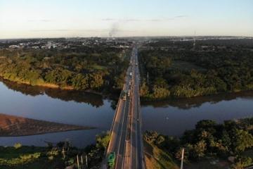 BR-364: iniciam obras subaquáticas para solucionar problema estrutural de ponte em Rondonópolis