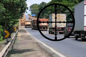 Roubo de carga nas rodovias recua 27,1% no Brasil, em agosto